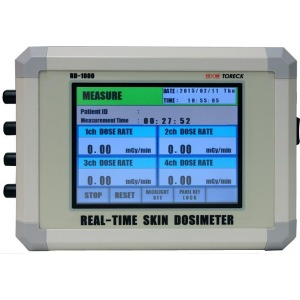 リアルタイム皮膚線量計 RD-1000